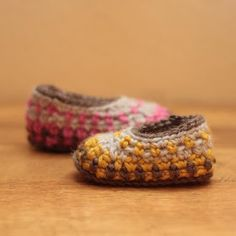 Crochet For Free: Galilee Booties