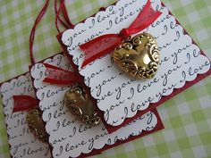 Sweet Heart Tags by vsroses.com, via Flickr