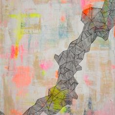 Lisa Congdon Art + Illustration » abstract paintings and drawings. solo show @Marion Johnstone and Rose  in May 2014.