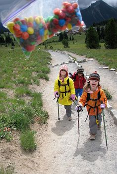 Tips for hiking with the kids.