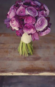 #bouquet #purple