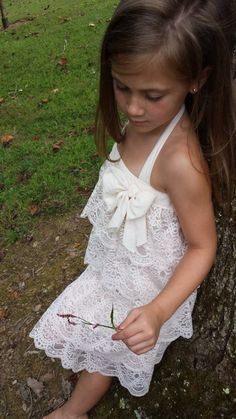 Vintage Inspired Blush Lace Ruffled by MYSWEETCHICKAPEA on Etsy, $68.00