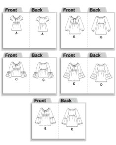 peasant blouse pattern mccall pattern sale for 7.66