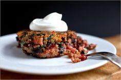 Quinoa & Chard Cakes