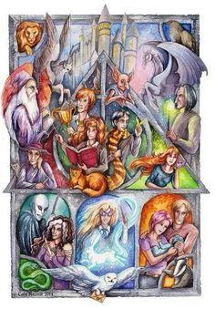 Harry Potter. Love!