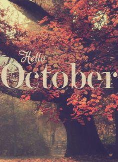 Hello October ♥