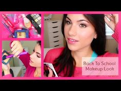 ▶ Back To School Drugstore Makeup Tutorial maybelline the nudes