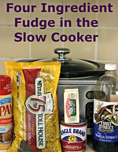 A Year of Slow Cooking: How to Make Perfect Fudge in the Slow Cooker