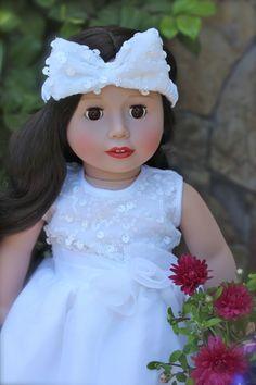 """Melody Rose 18"""" Doll from Harmony Club Dolls. Visit www.harmonyclubdolls.com"""