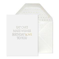 eat cake | sugar paper