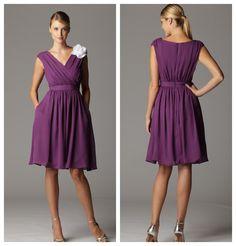 bridesmaid dresses purple | Soft & Flowy Bridesmaid Dresses - Rustic Wedding Chic