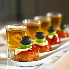 Oven Baked Meatball Appetizers