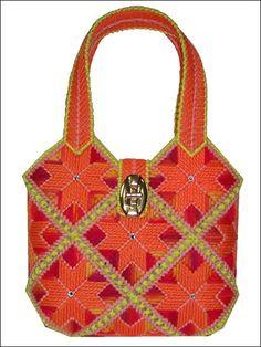Plastic Canvas Handbag Pattern