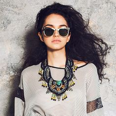 ❥ This Shirt and Necklace