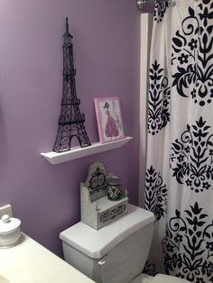 Paris theme bathroom by sophannamak on pinterest for French themed bathroom