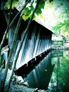 Bridge in Gadsden, Alabama at the Falls