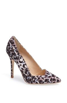 asymmetrical pump - these would be cute with a simple black dress @Nordstrom