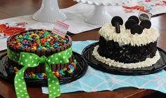 Cub Scout cake auction. Kit Kat Cake and Oreo Cookies & Creame cake. @Jennie Isom Here you go! I linked back to recipe on my blog.