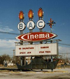 IL-Belleville-Cinema sign  BAC Cinema Belleville, IL