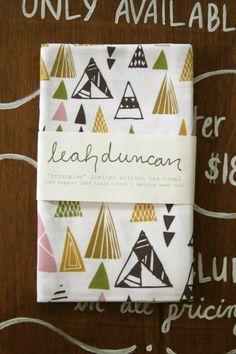 Triangles Tea Towel
