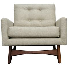 1950s Adrian Pearsall Craft Associates Lounge Chair