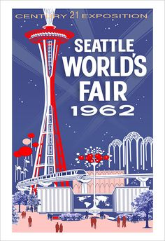 President John F. Kennedy officially opened the Seattle World's Fair on April 21, 1962. I was soon to be 10 years old.