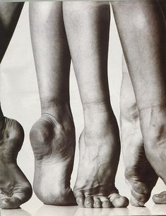 """I believe in the religion of the beauty of the human foot"" Isadora Duncan"
