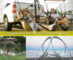 Relaxation at its Best : 5 Most Comfortable Hammocks