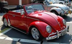 punch buggy, red, classic cars, vw beetles, beetl convert, vw bugs, first car, dream car, volkswagen
