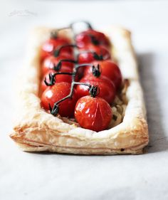 French Mustard and Onion Tart Recipe (use gluten-free puff pastry)