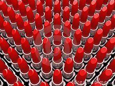 RED - lipstick