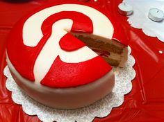 Pinterest Birthday Party internet marketing, pinterest cake, birthday parties, birthdays, food, social media, socialmedia, medium, birthday cakes