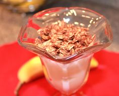 Try this easy recipe for: Chocolate Orange Granola