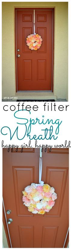 DIY Coffee Filter Sp