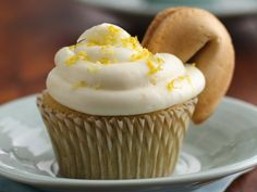 Green Tea & Lemon Cupcakes