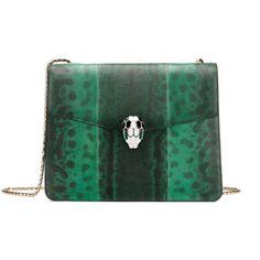 #green #bulgari #bag