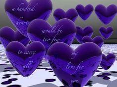 ... favorit color, purpl heart, color purpl, purple, thing purpl, beauti, valentin, quot, purpl passion
