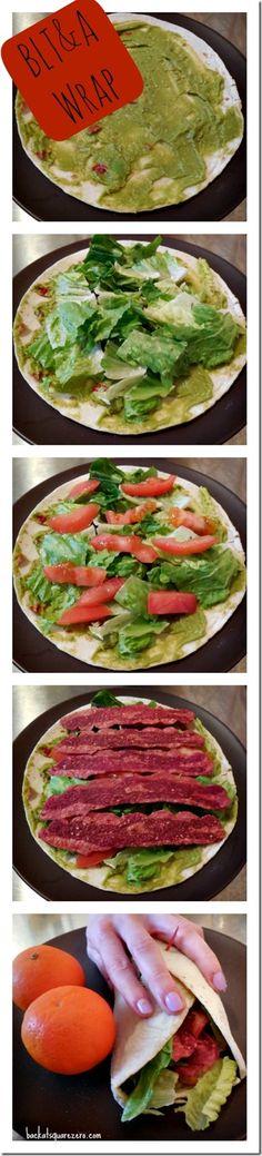 #GlutenFree BLT&A Wrap