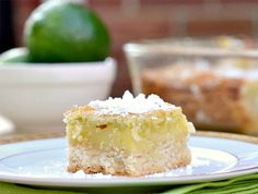 Light key lime bar recipe