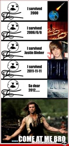 excluding Justin Beiber (I'm not a hater)... hilarious.