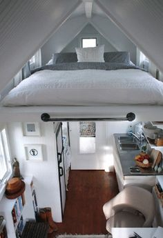 loft bed. In my someday tiny home