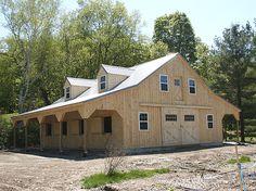 hors barn, barn hous, barn stabl, dream barn, live quarter, metal buildings, hors stabl, barn living, horse barns