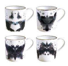 Fox Ink Blot Mug, Buy Unique Gifts From CultureLabel.com ($20-50) - Svpply