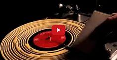 How to clean a record with wood glue… Yes, for real