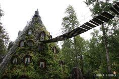 Hotel La Montaña Mágica. Huilo-Huilo, Chile. #BucketList