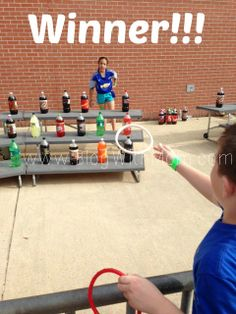 School Carnival Ring Toss Game Pays For Carnival Admission