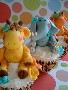 Jungle Theme Cupcakes