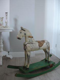 antique wooden horse