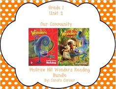 This 1st grade journal contains over 30 pages of interactive student activities aligned to Common Core and to the McGraw Hill Wonders series. It contains all weeks in Unit 2!  These can easily be folded to fit in the students composition books or journals.