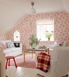 cute attic room